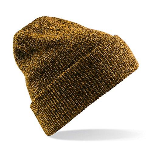 Beechfield - Bonnet - Homme - Jaune - Antique Mustard - Taille unique