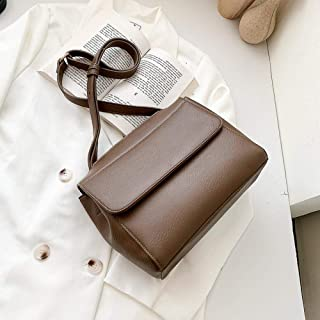 LIMING Autumn and winter retro small bags women's tide women's bags Messenger bags atmospheric fashion small bags,Colour:W...