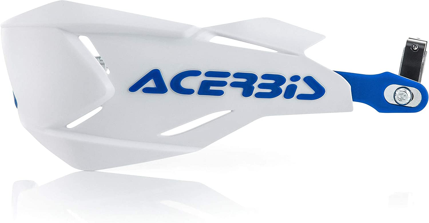 Acerbis Unisex's Moto Hand Guards Size Blue White 70% OFF Outlet One Purchase