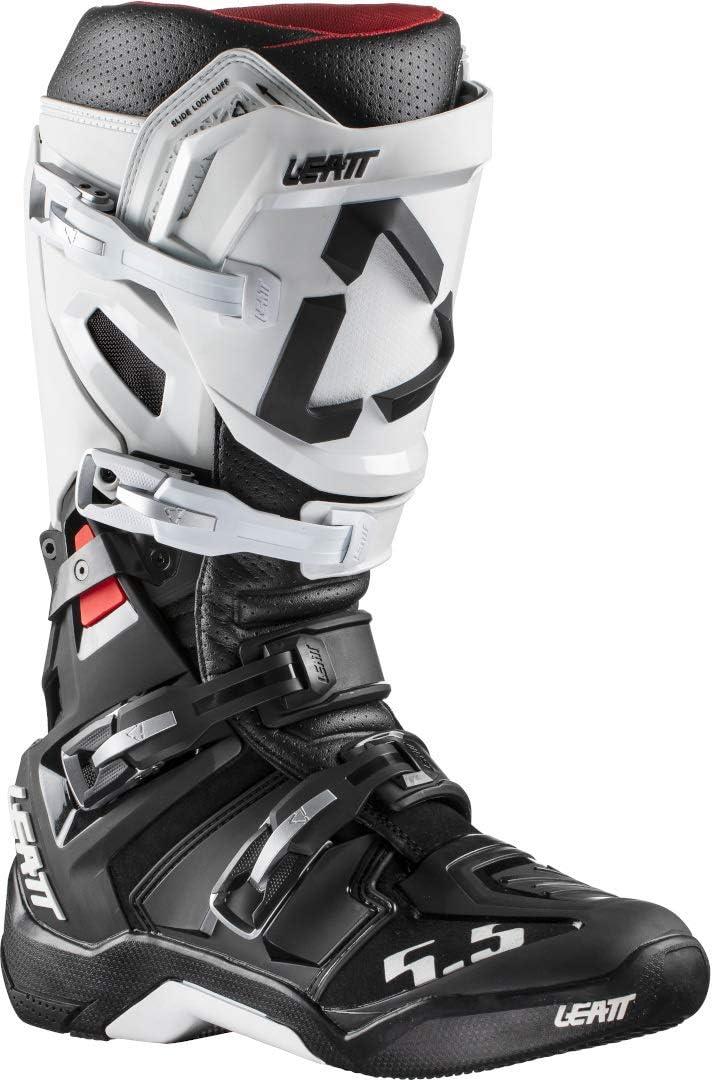 Leatt List price 5.5 Flexlock Black-10 Our shop OFFers the best service Boots-White