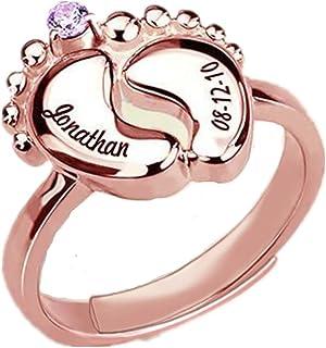 Amazon.es: anillo grabado personalizado