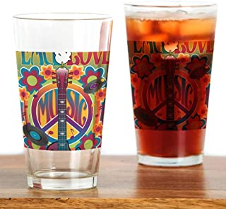 Tribute To Woodstock Pint Glass, 16 oz. Drinking Glass
