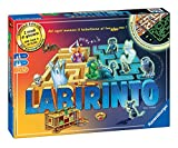 Ravensburger- Labirinto Glow in The Dark Gioco di società, Multicolore, 26692