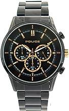 [ポリス] POLICE 腕時計 クロノグラフ クォーツ 15001JSB02MA ブラック メンズ [並行輸入品]