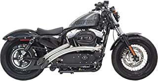 Bassani Xhaust Radial Sweepers Exhaust (Chrome With Chrome Heat Shield)