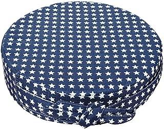 Hosaire 1x Kinder Sitzkissen Tragbar Sitzerh/öhung f/ür Baby Stern-Muster Runde Sitzpolster Blau 8cm 32