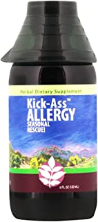 WishGarden Herbs - Kick-Ass Allergy, Organic Herbal Allergy Supplement, Supports Immune Response to Seasonal Allergies (4 ...