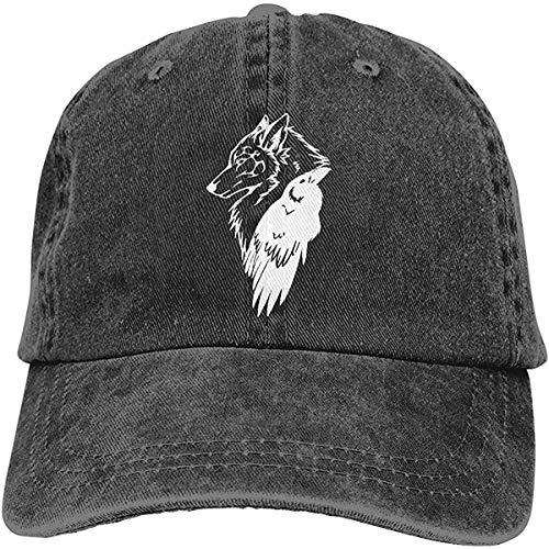 Viking Norse Wolf Rune Protección Ajustable Deporte Jeans Béisbol Golf Gorra Sombrero Unisex Estilo