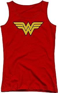 DC Wonder Woman Logo Juniors Tank Top Shirt