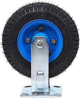 Casters 1 x universele rubberen wielen, opblaasbaar, wielen voor trolley, met trays, vervangt accessoires voor remkracht, ...