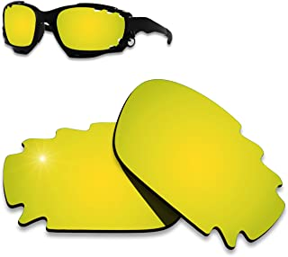 AHABAC Lenses Replacement for Oakley Jawbone Vented Frame Varieties - Polarized & Anti-Reflective & Water repel