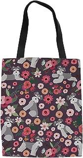 Canvas Reusable Tote Bag Women Shopping Shoulder Bags Book Bags Cute Designer Handbags for Women