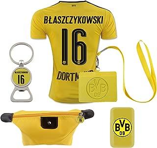 #16 Blaszczykowski (6 in 1 Combo) Dortmund Home Match Adult Soccer Jersey 2016-17