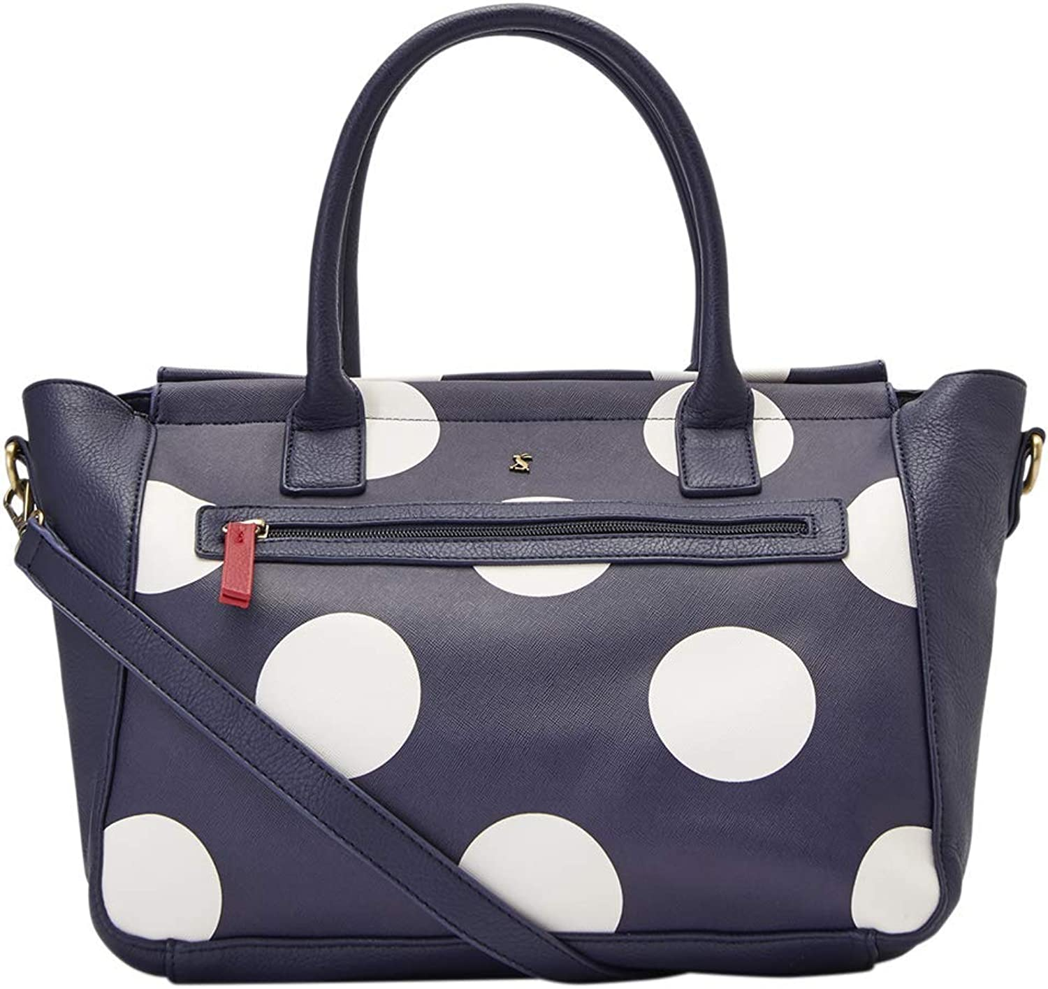 Joules Women's Daytoday Print TopHandle Bag bluee (Navy Spot)