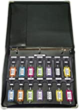 Lucky Line Key Organization Sysem File-A-Key, Binder, 42 Multi-Color Key Tags & Snap-in Tabs, Full Set of Label Sheets