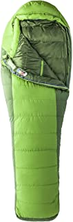 Marmot Never Winter Sleeping Bag: 30 Degree Down Cilantro/Tree Green, Reg/Left Zip