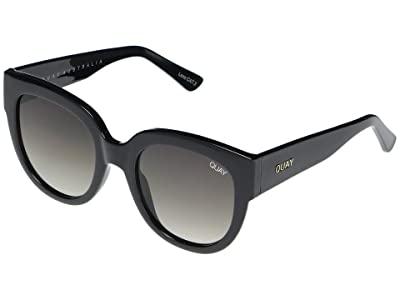 QUAY AUSTRALIA Limelight (Black/Smoke) Fashion Sunglasses