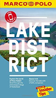 Lake District Marco Polo Pocket Travel Guide - with pull out map