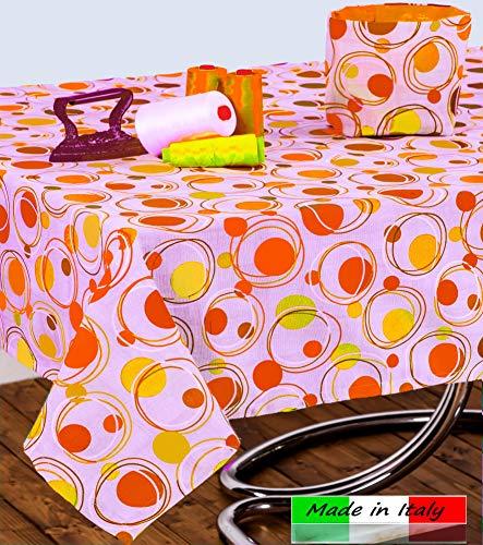 Angelsartory Tovaglia Antimacchia 140X180 Copritavolo Moderno Design Tovaglie Cerata Cotone Rettangolare Impermeabile Antistiro Poliestere Tessuto Fantasia Da Tavolo Cucina Soggiorno Moderne