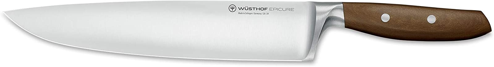 Wusthof 3982-7/24 Epicure Cook's Knife, One Size, Brown, Stainless
