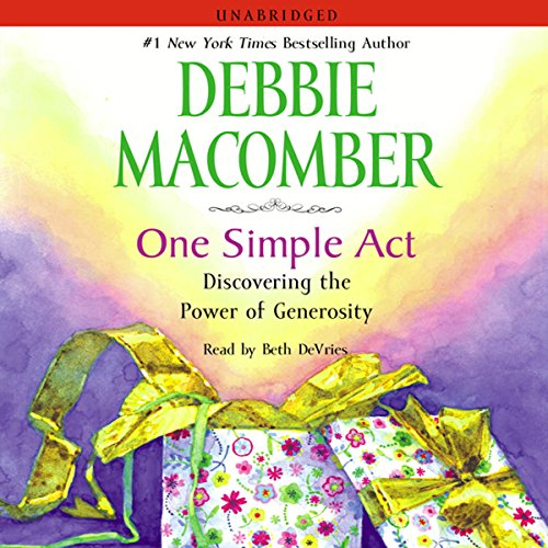 One Simple Act audiobook cover art