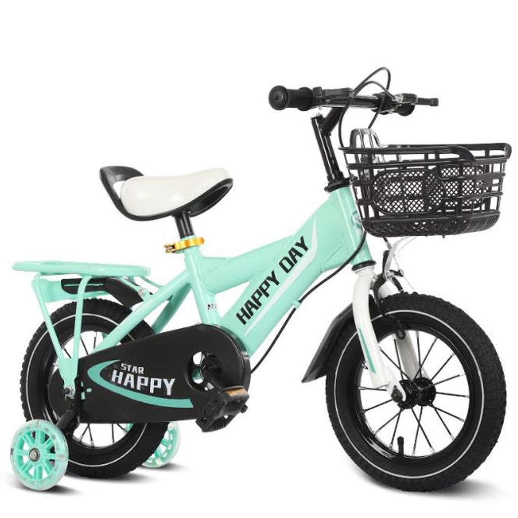 WGYEREAM Bicicleta para Niños, Bicicleta Infantil, Formación de ...