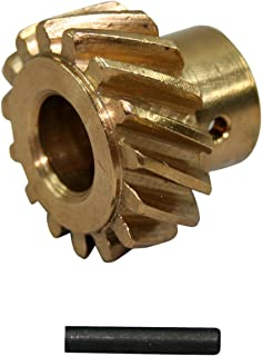 PRW 0735001 0.491 Bronze Distributor Gear for Chevy 262-454 1955-00