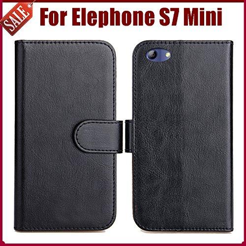 Prevoa Elephone S7 Mini Funda - Flip PU Funda Case Protictive para ...