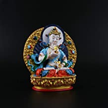 ZGPTX The Buddha's Little Buddha Statue Hand-Painted with The Buddha's Demons Home Decor Gift Table Decoration