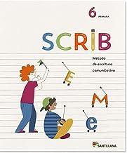 Cuaderno Saber Scrib 6Prm cast - 9788468028149