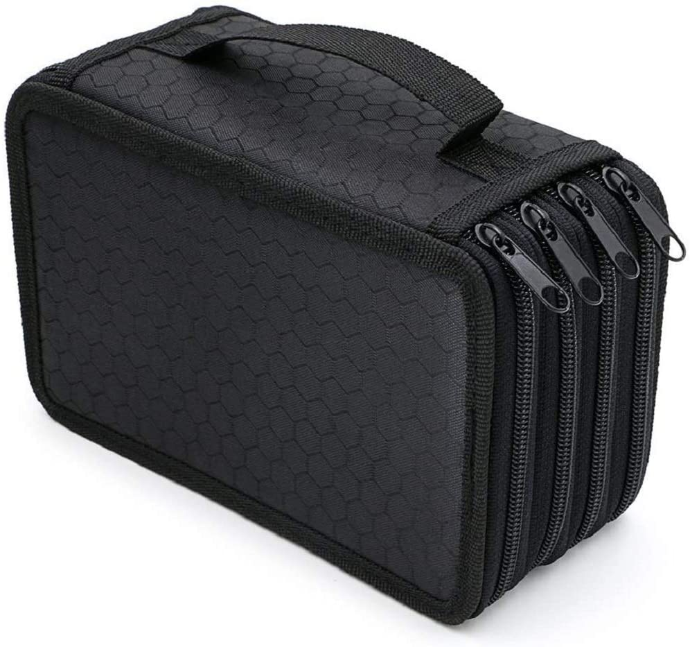 Pencil Case Our shop OFFers Max 46% OFF the best service 72 Slots Large Pouch Pens Capacity Wrap