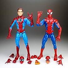 Bestting 16Cm Leyendas Desenmascarado Homecoming Peter Parker Y Spiderman Pizza Modelo, Diferente Turística Floja Decoración De Colección De Juguetes