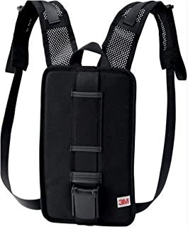 3M 00051131173583 Versaflo Back Pack for TR-600/800 PAPR, Capacity, Volume, Standard, Black