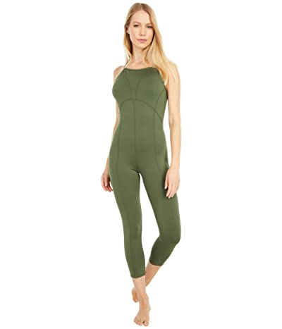 FP Movement Side to Side Performance Jumpsuit (Green) Women