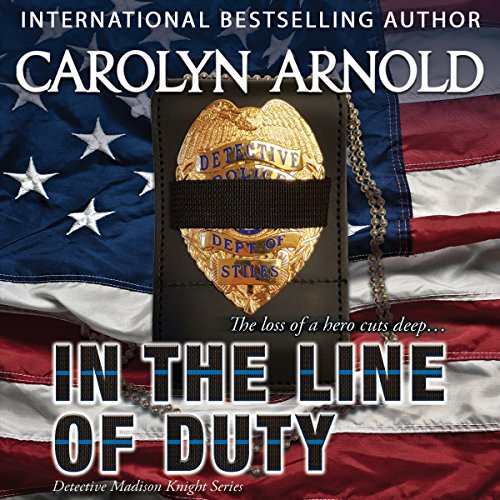 In the Line of Duty audiobook cover art