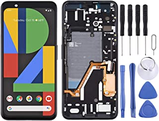 SHUHAN LCD Screen Phone Repair Part LCD Screen and Digitizer Full Assembly with Frame for Google Pixel 4XL Mobile Phone Ac...