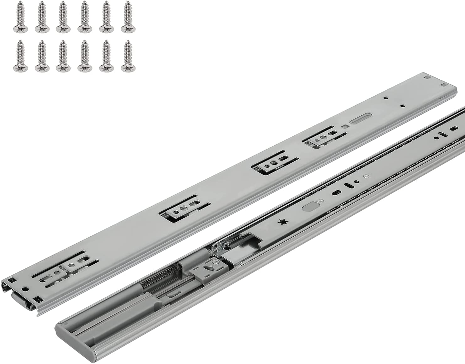 Soft 67% OFF of fixed price Close Drawer Slides 20 Duty Heavy Inch 5 At the price of surprise Pair