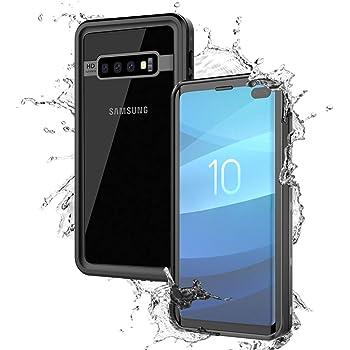 BasicStock Funda Impermeable Samsung Galaxy S10 Plus, [Anti ...