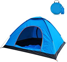 2-Person Camping Tent with Carry Bag, Jhua Lightweight...