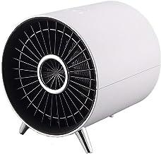 ZTGL Mini Calefactor Cerámico Profesional, Radiador Eléctrico Portátil de 1000 W con Termostato Ajustable, Protección contra Vuelcos,Blanco