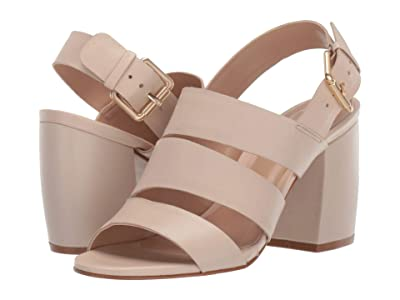 Massimo Matteo Haley Strap Heel (Pearl) Women
