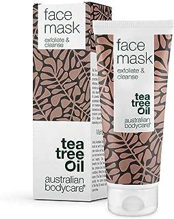 Australian Bodycare Face Mask 100ml | Gesichtsmaske für Männer & Frauen | Unreine Haut & Mitesser | Anti Pickel Maske mit natürlichem Teebaumöl | Auch zur Pflege bei zu Akne neigender Haut