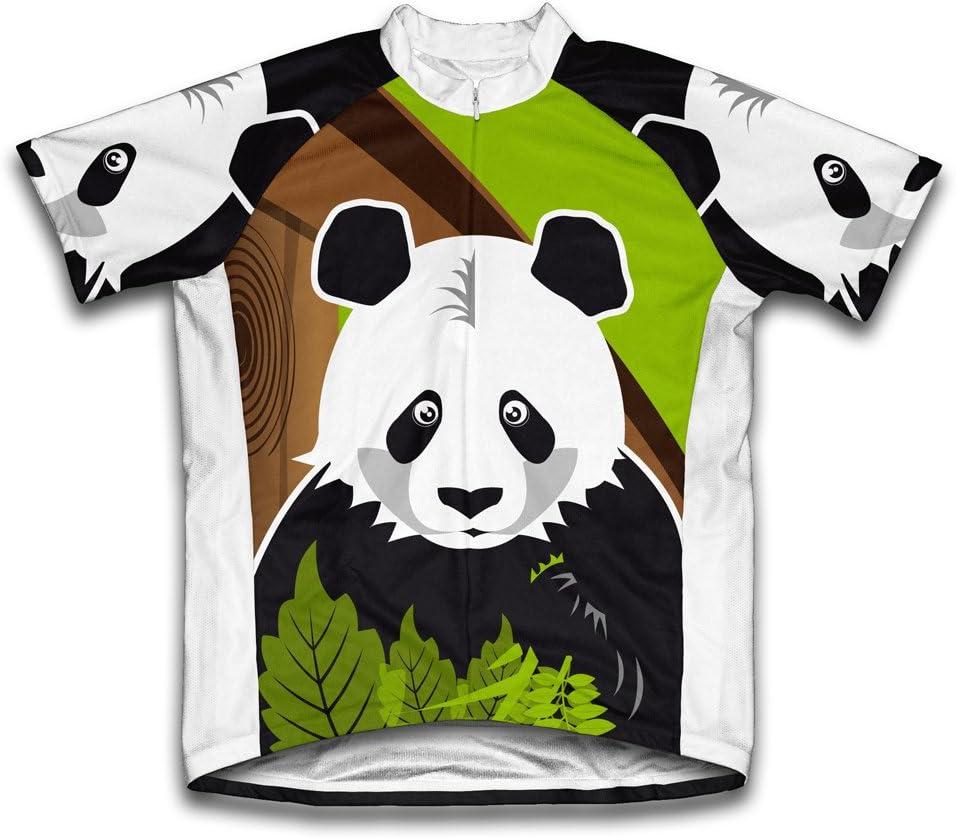 ScudoPro Now free shipping Hi Panda Ranking TOP10 Short Sleeve Cycling Jersey Women for