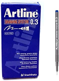 Artline drawing system pen - black 0.3 mm writing width