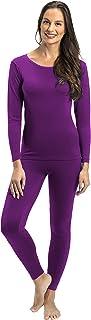 Rocky Thermal Underwear for Women Lightweight Cotton Knit Thermals Women's Base Layer Long John Set