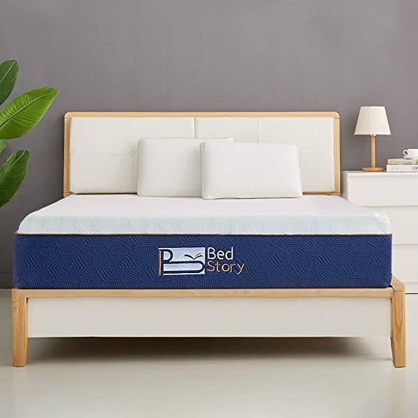 BedStory Foam Mattress Twin 6 Inch Breathable Bed Mattress With CertiPUR US Certified Foam For Sleep Supportive And Pressure Relief