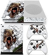46 North Design Xbox One S Pegatinas De La Consola T-Rex + 2 Pegatinas Del Controlador