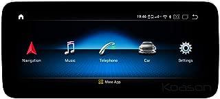 Android9.0 W176 X156 C117 Qualcomm 8 Core 4+64GB 10.25 Blueray AntiGlare Screen Monitor 4G CarPlay Multimedia Player GPS Navigation for Benz A CLA GLA Headunit NTG4.X
