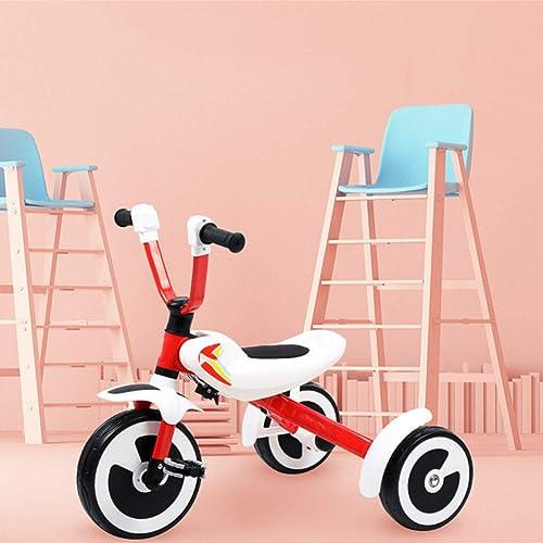 garantizado Bebé Triciclo Equilibrio Bicicleta Bicicleta Bicicleta Scooter Scooter Bebé Walker Plegable Interior y Exterior Adecuado para Niños de 3-6 años (Color  rojo)  venta caliente