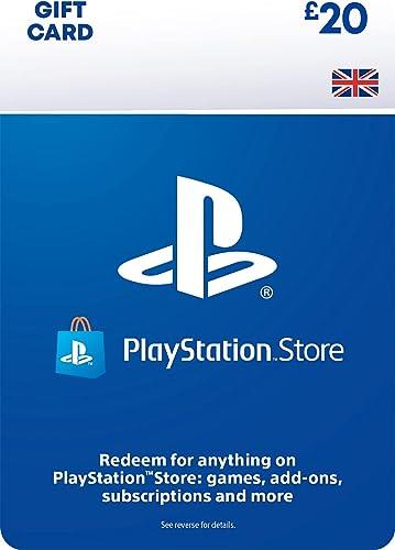 PlayStation PSN Card 20 GBP Wallet Top Up   PS5/PS4   PSN Download Code - UK account
